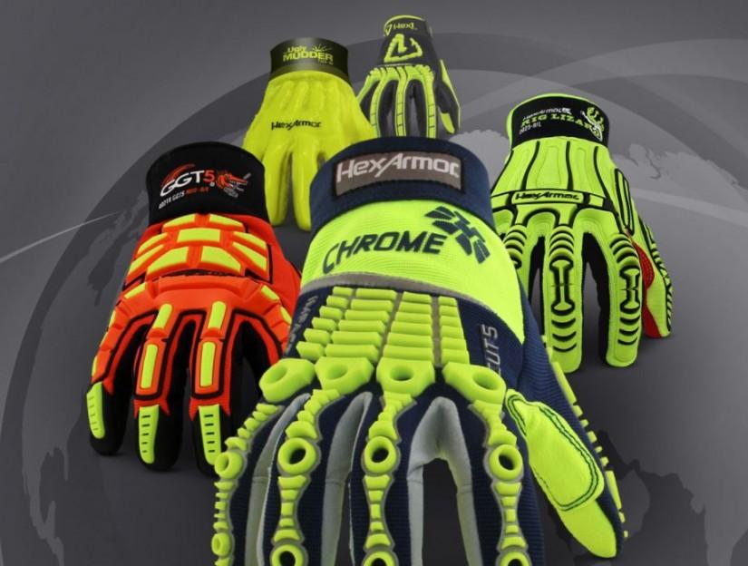 Защитные перчатки HexArmor в России