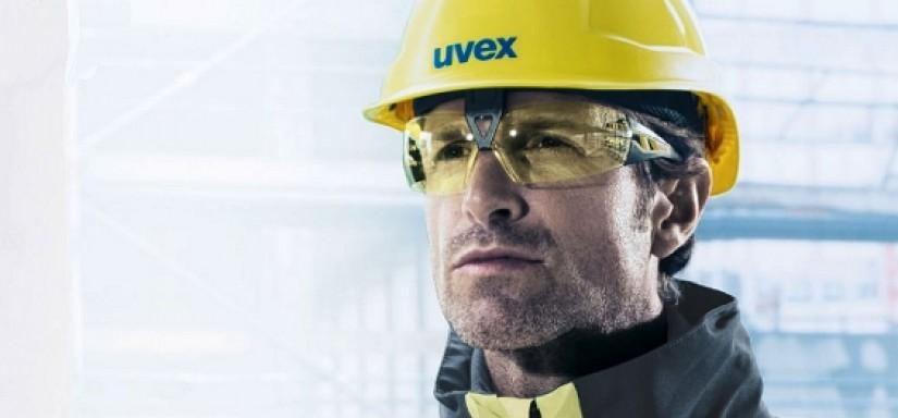 Тонировка линз защитных очков uvex. Дополнительные возможности и выгоды.