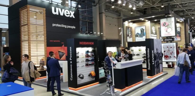uvex на международной выставке БиОТ 2019